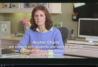 Debbie Diller on anchor charts