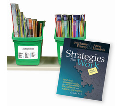 Strategies That Work Classroom Library Collections, by Stephanie Harvey and Anne Goudvis