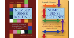 Number Sense Routines K-3 and 3-5, by Jessica Shumway