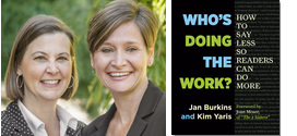 Who's Doing the Work, by Jan Burkins and Kim Yaris